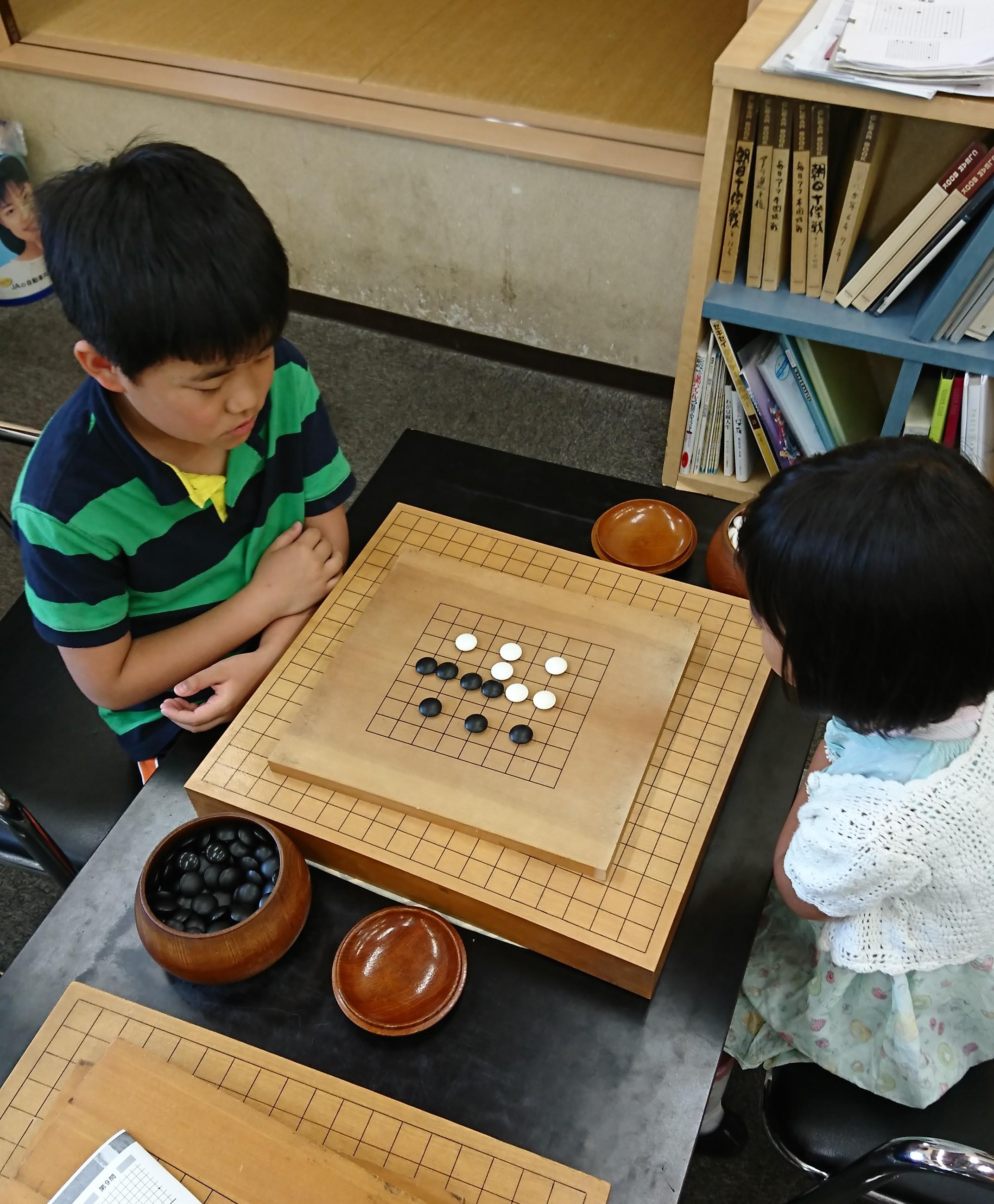 一日体験囲碁入門教室のお知らせ